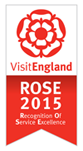 Recognition of Service Excellence 2015 - Visit England