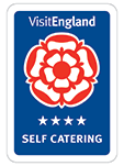 Visit England 4 Star Self Catering award
